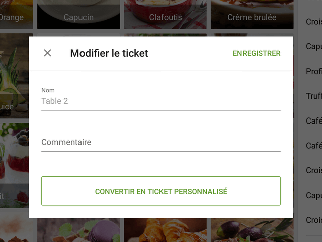 commentaire au ticket