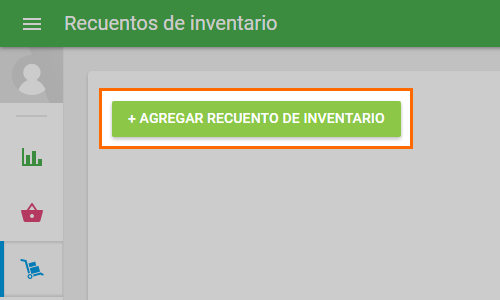 '+ Add inventory count' button