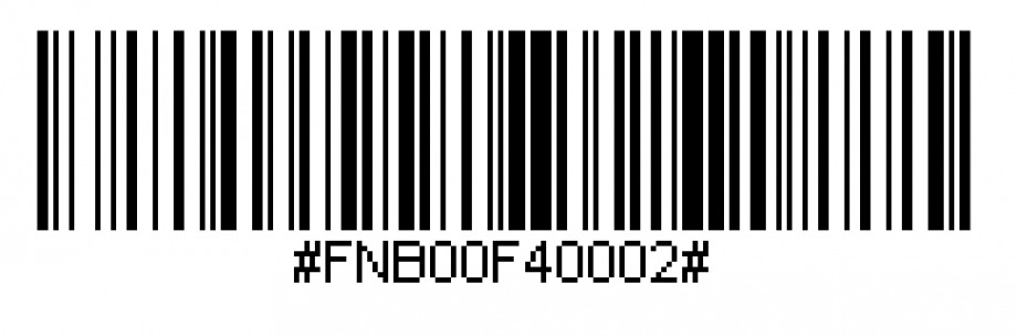 barcode to switch scanner to Application Mode