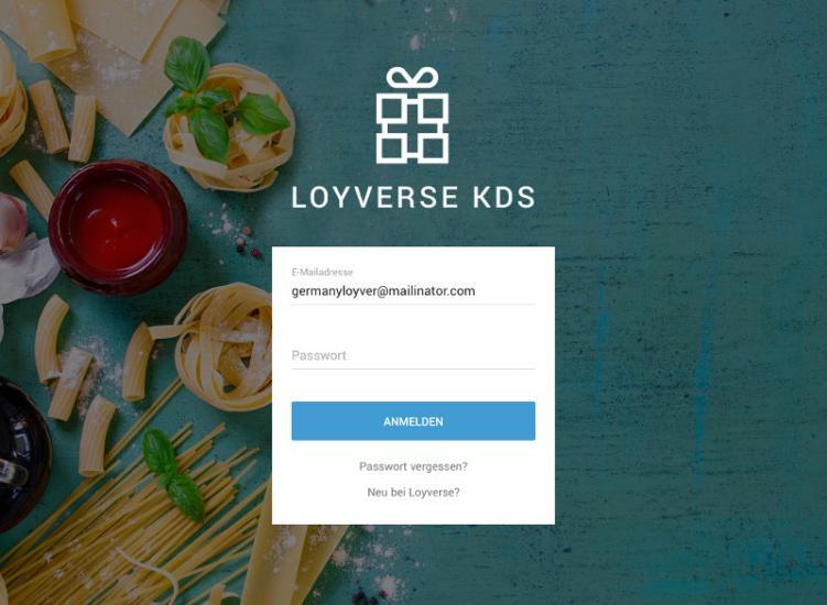 Anleitung zur Konfiguration eines Küchen Anzeigesystems - Loyverse