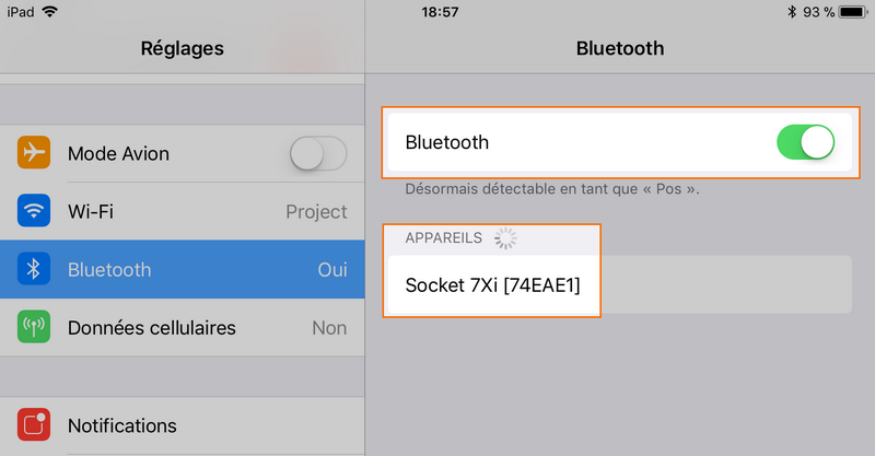 bluetooth device search