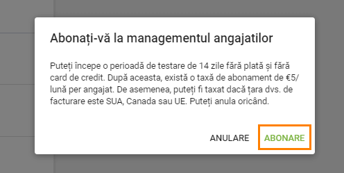 Proces de management al angajaților